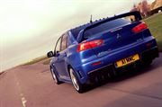 EVO X FQ-400: REAR BUMPER ASSEMBLY (C/W CARBON REAR DIFFUSER FOR CENTRE EXIT EXHAUST)