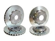 GIRODISC: REAR SLOTTED 2-PIECE ROTOR SET (EVO 10)