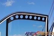 Rexpeed CT9A Carbon Window Vent - Evo 7-9