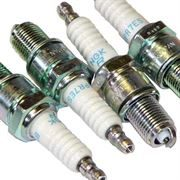 NGK: Copper Spark Plugs (BR10ES): Evo I - VIII (Set of 4)